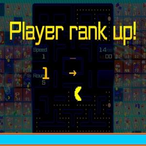 Pac-Man 99 rank up Nintendo Switch Bandai Namco