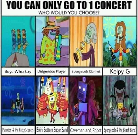 Spongebob music meme