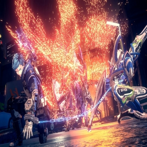 Player and legion kill laius astral chain Nintendo switch