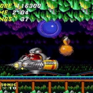 Sonic and tails vs Drill Eggman II Sonic the Hedgehog 2 Sega genesis Sega mega drive