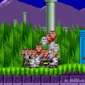 Marble Zone freed animals sonic the Hedgehog 1 Sega genesis Sega mega drive