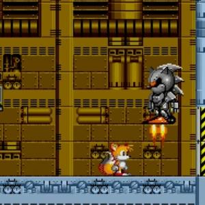Tails vs Mecha Sonic Sonic the Hedgehog 2 Sega genesis Sega mega drive