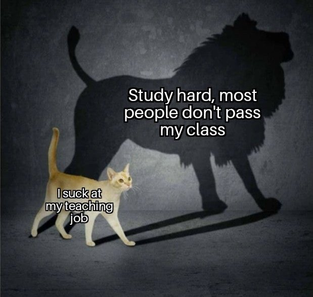 Memes Teaching job