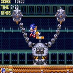 Gapsule boss battle sonic & Knuckles  Sega Genesis Sega Mega drive