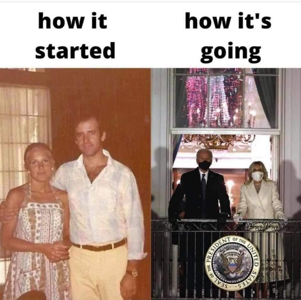Memes President Joe Biden first lady Jill Biden