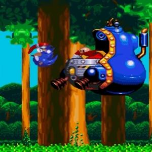 sonic & Knuckles Jet Mobile boss battle Sega Genesis Sega Mega drive