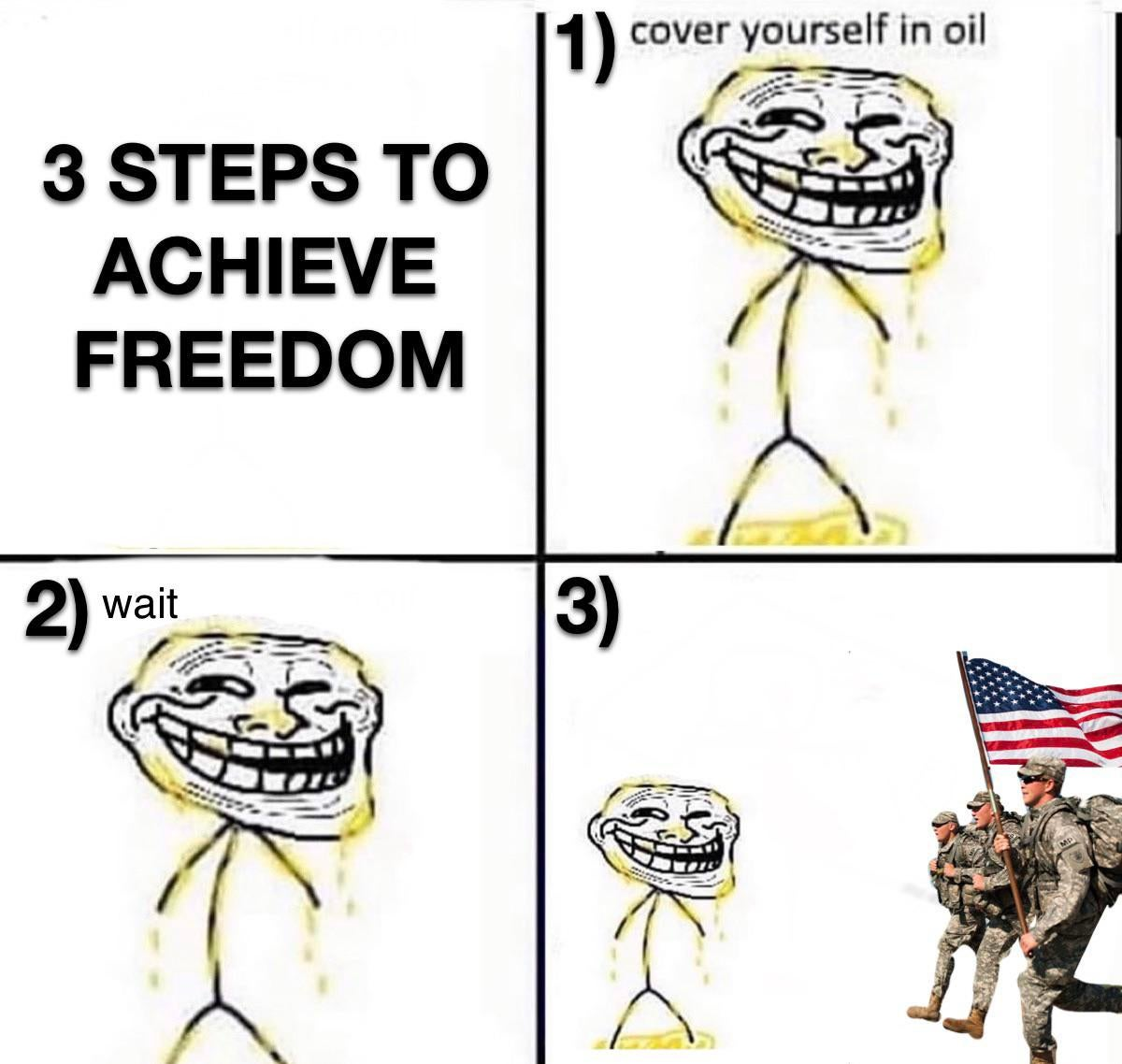 Memes America freedom oil