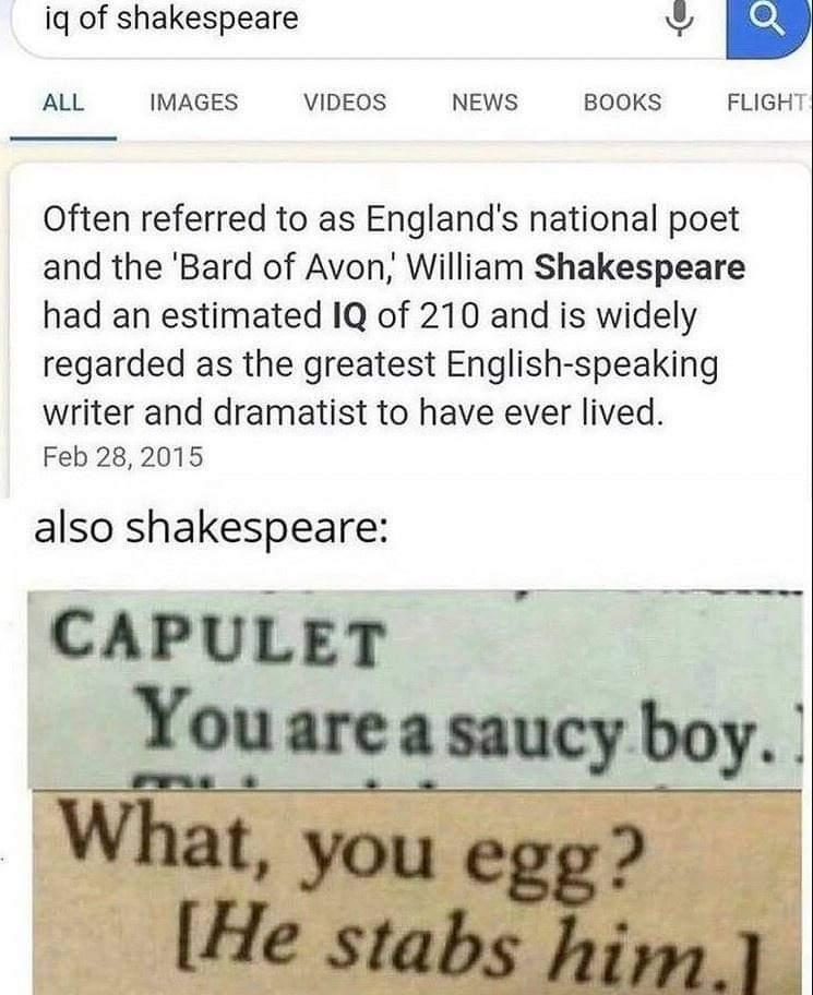 Memes William Shakespeare