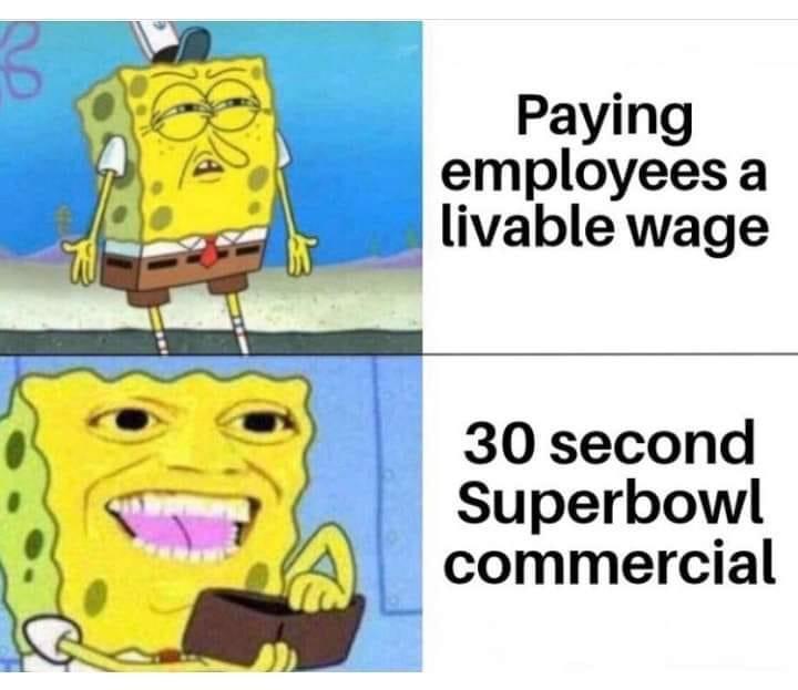 Memes Super Bowl commercials