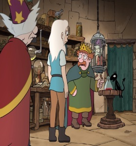King zog kidnaps elfo Disenchantment