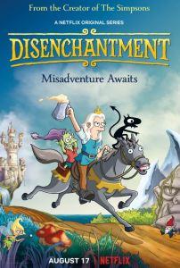 Disenchantment part 1 poster Netflix