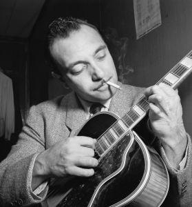 Django Reinhardt jazz musician