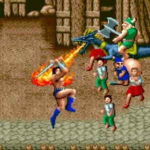 Golden axe ax Battler Sega genesis arcade Sega mega drive