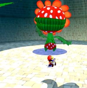 Petey Piranha first boss battle Super Mario Sunshine Nintendo GameCube
