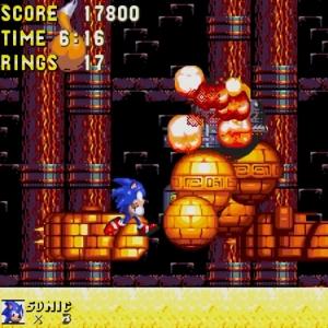 Egg Golem defeated sonic & Knuckles  Sega Genesis Sega Mega drive