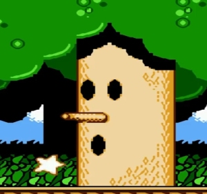 Whispy Woods Kirby's Adventure NES boss