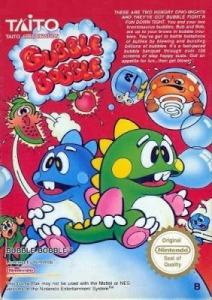 Bubble Bobble NES Boxart Taito