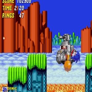 Sonic the Hedgehog 2 submarine Eggman Sega genesis Sega mega drive