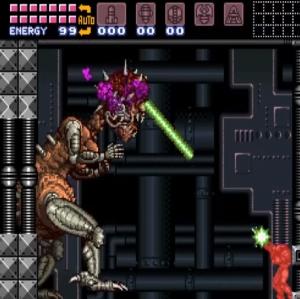 Mother brain dies super Metroid snes super Nintendo