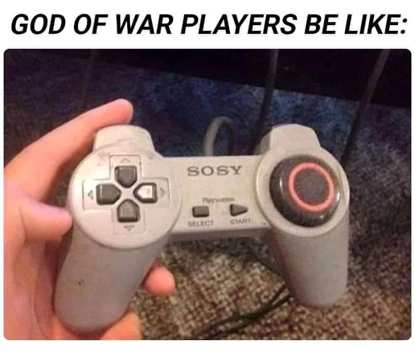 Memes God of war PlayStation