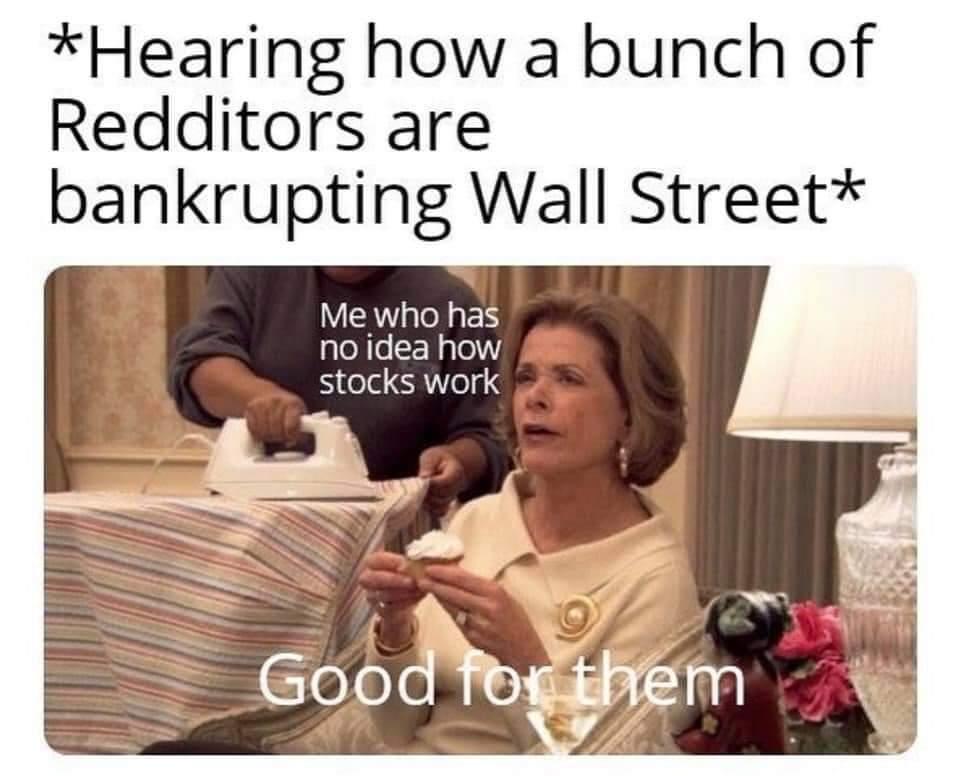Memes Wall Street billionaires going bankrupt