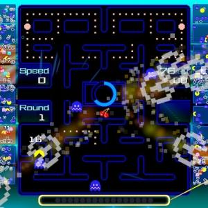 Pac-Man 99 blue ghosts Nintendo Switch Bandai Namco