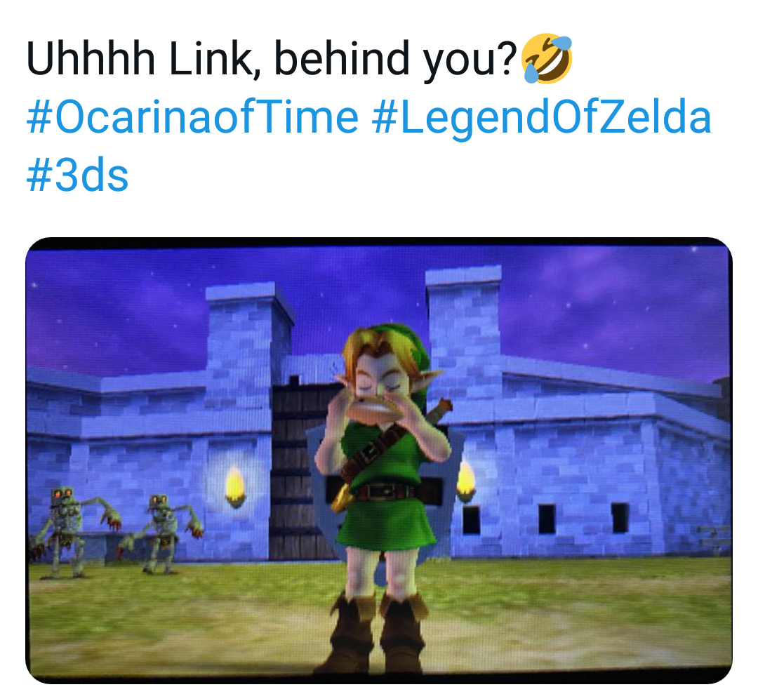 Memes The legend of Zelda ocarina of time 3DS and 64