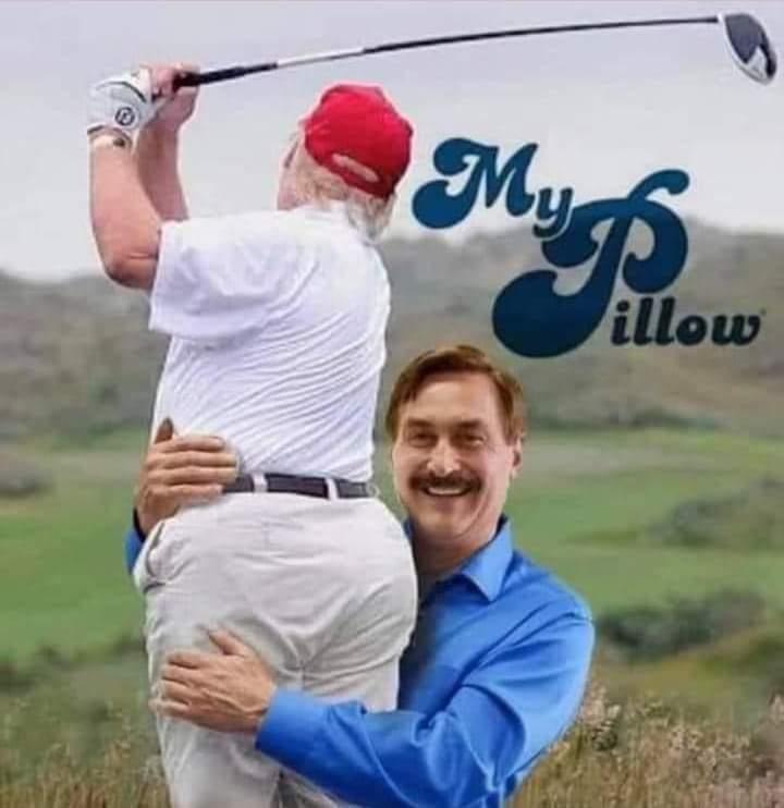 Memes My pillow CEO Donald Trump