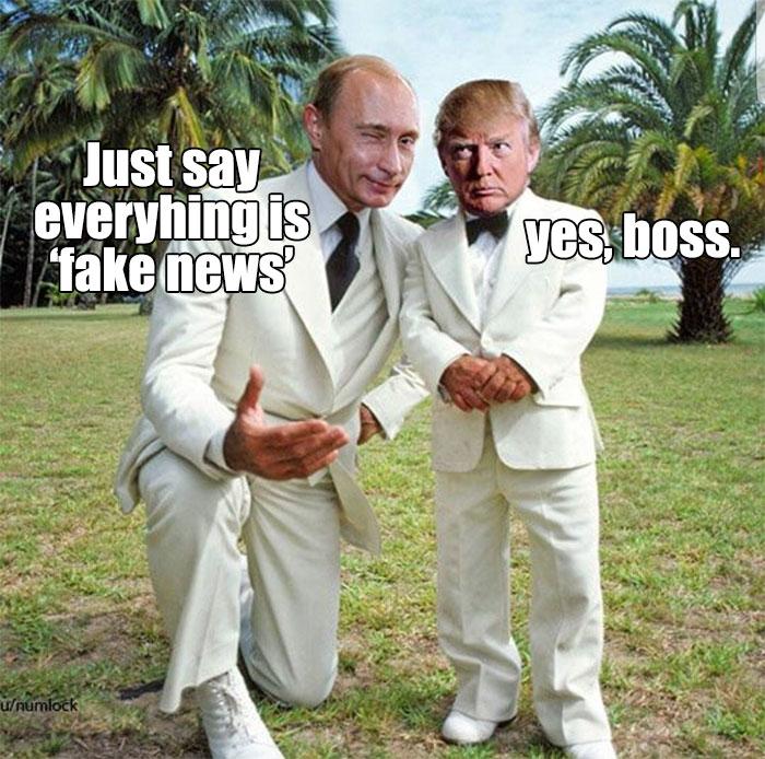 Memes Vladimir Putin  And Donald Trump