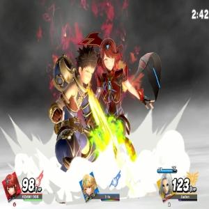 Pyra and Rex final Smash super Smash Bros ultimate Nintendo Switch