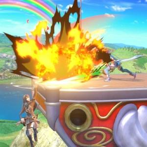 Pyra vs lucina super Smash Bros ultimate Nintendo Switch