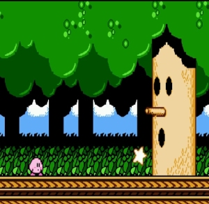Kirby vs. Whispy Woods Kirby's Adventure NES Nintendo Nintendo Entertainment System