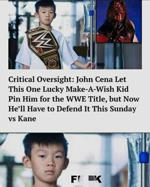Memes John Cena make a wish WWE wrestling