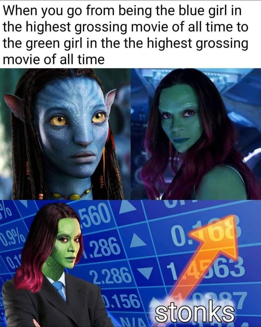 Memes Avatar avengers endgame