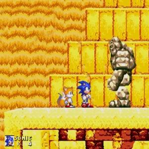 Guardian vs sonic and tails sonic & Knuckles Sega Genesis Sega Mega drive