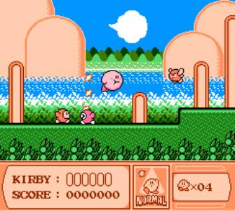 Waddle dee vs Kirby Kirby's Adventure NES Nintendo