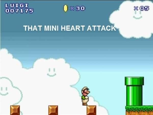 Memes Super Mario brothers all stars super Nintendo Luigi