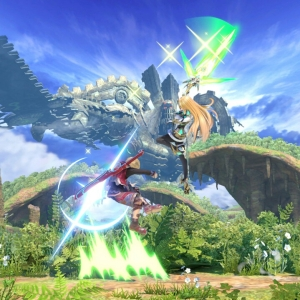 Mythra vs shulk super Smash Bros ultimate Nintendo Switch