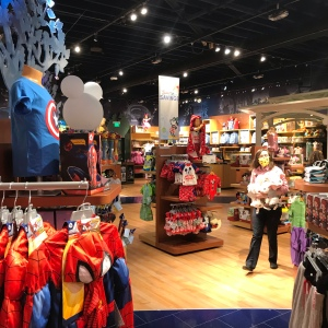 Disney store Spiderman shirts Southpark Mall charlotte North Carolina