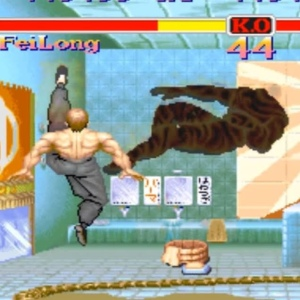 Fei Long VS e Honda Street fighter II snes arcade Capcom