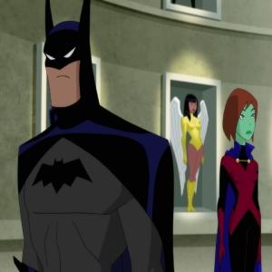 Justice League vs. the Fatal Five Batman Bruce Wayne and Miss Martian M'gann M'orzz