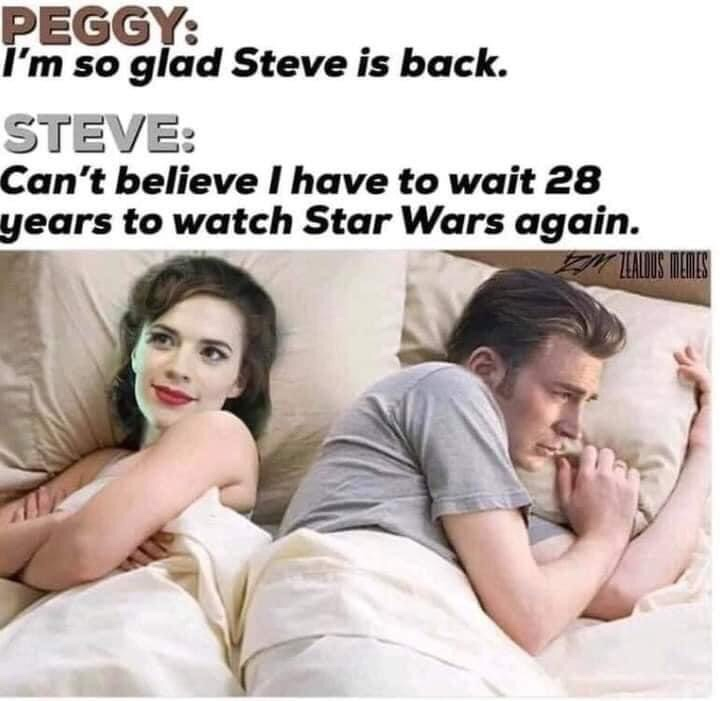 Memes Peggy Carter Steve Rogers