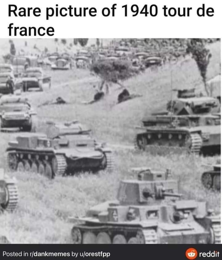 Memes Tour de France 1940