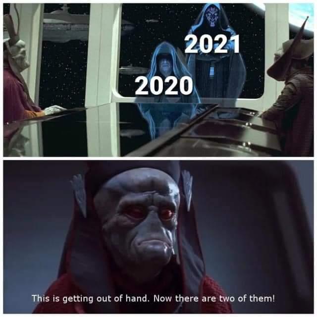 Memes Star Wars 2021
