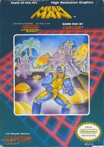 Mega man worst boxart in history nes Capcom