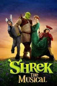 Shrek the musical movie poster