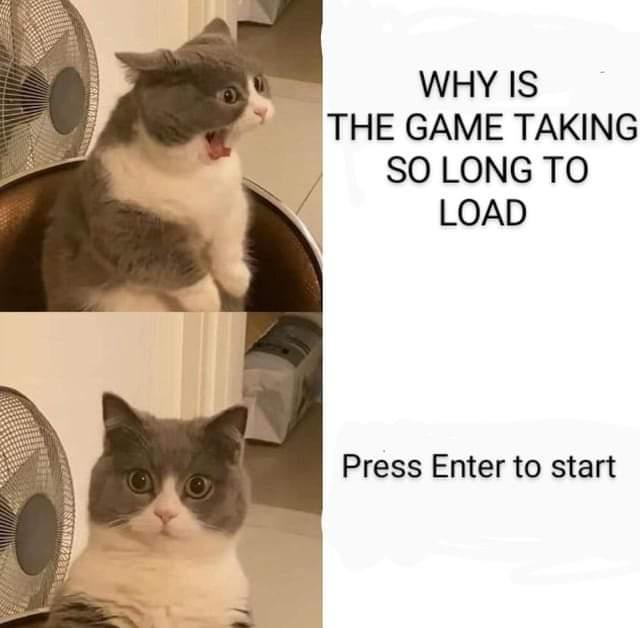 Memes Video game loading screen