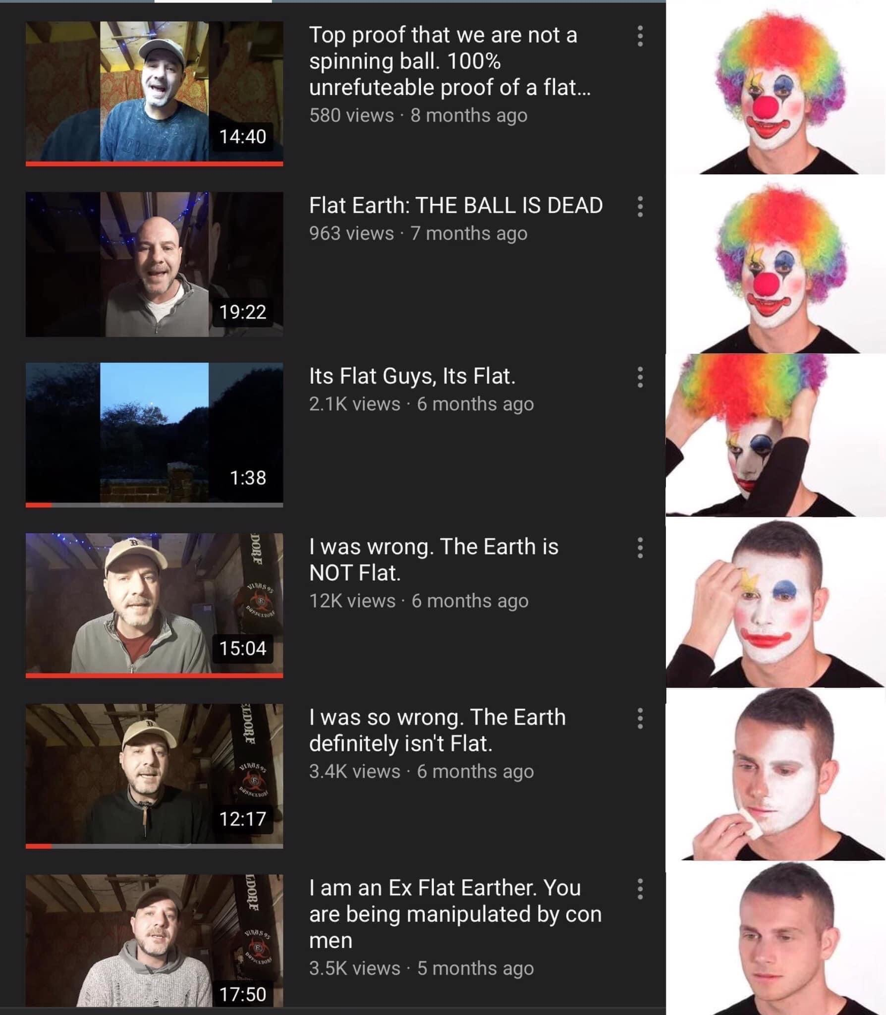 Memes Flat Earthers learn the truth