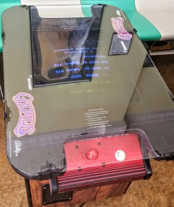 Gaplus arcade machine tabletop Namco