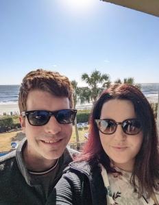 Couple enjoying Myrtle Beach south carolina